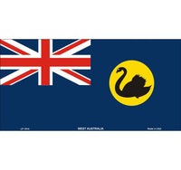Flags of Australia - WA Flag Tin Sign (30cm x 15cm)