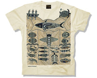 Shark Blue Adults T-Shirt