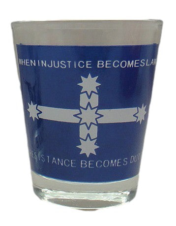Eureka Flag Resistance Becomes Duty Shot Glass