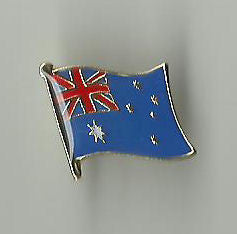 Australian Flag Metal Badge (Bargain Version Bulk Pack of 100)
