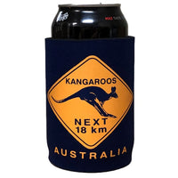 Kangaroo Road Sign Beer Can Holder