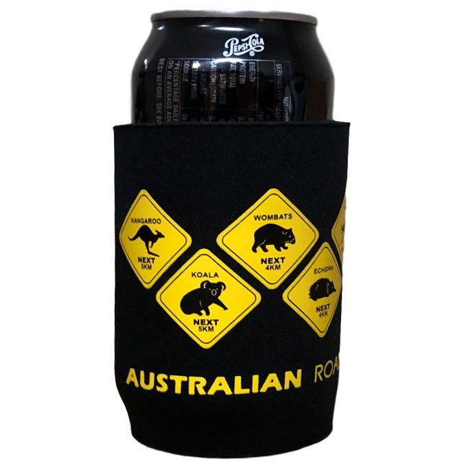 Australian Animal Road Signs Beer Can Holder