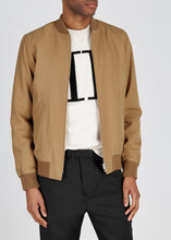 A.P.C. MA1 Camel Wool Bomber Jacket