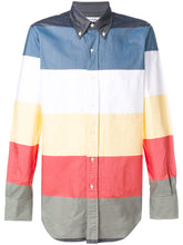 Thom Browne Multi Coloured Stripe Oxford Shirt