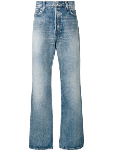 Balenciaga Straight Leg Denim Jeans