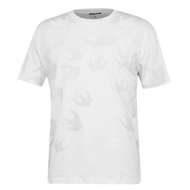 Alexander McQueen Faded Swallow T-shirt