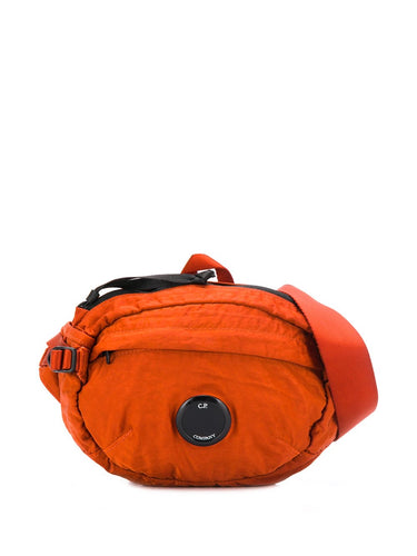 C.P. Company Orange Logo Belt Bag