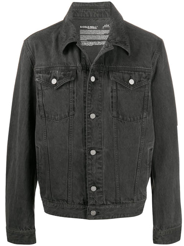 A Cold Wall Washed Grey Trucker Denim Jacket