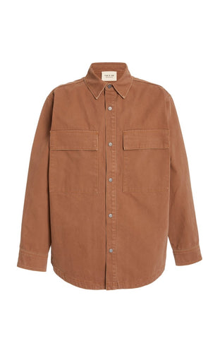 Fear Of God Brown Canvas Jacket