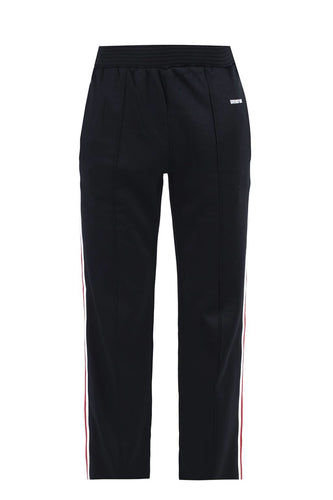 Givenchy Black Side Stripe Logo Sweatpants