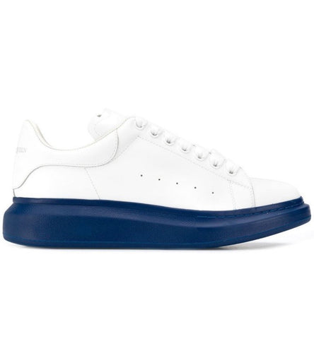 Alexander McQueen Navy Sole Oversized Sneakers