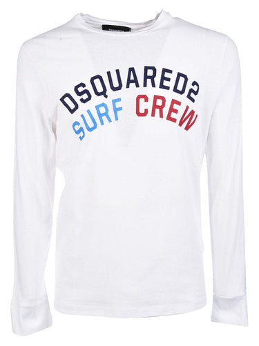 Dsquared2 Surf Crew Long Sleeve T-shirt