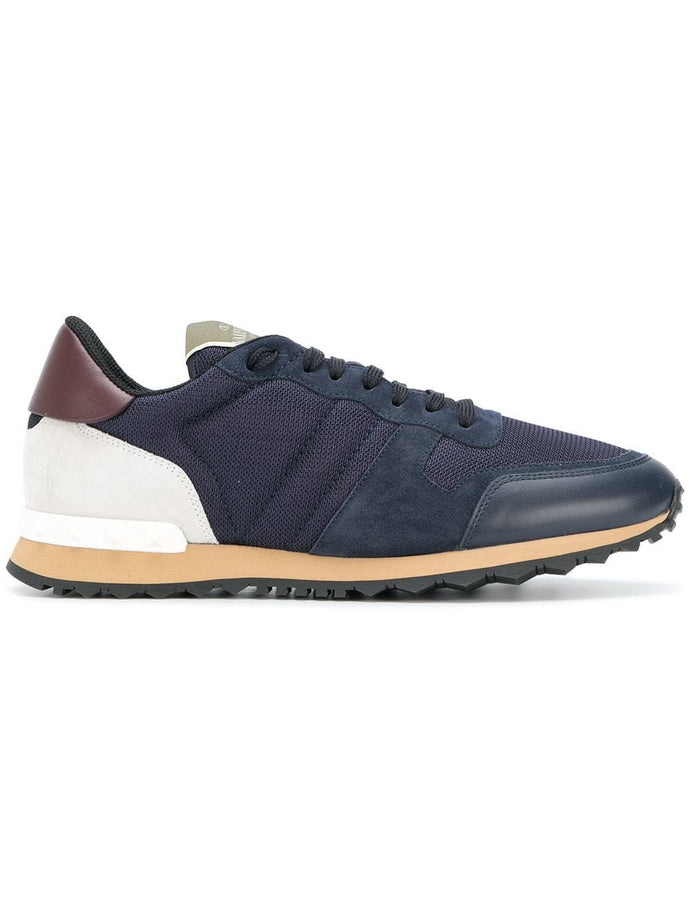 Valentino Blue/White Rockrunner Sneakers