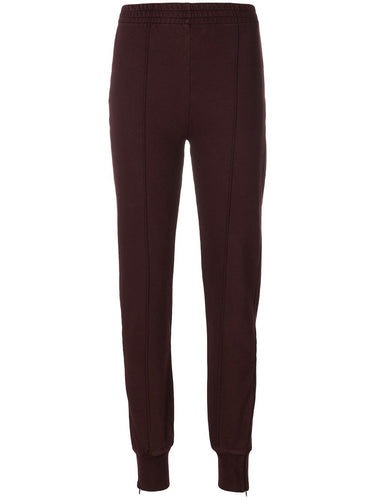Yeezy Oxblood Pin Tuck Sweatpants