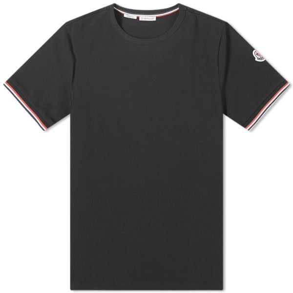 Moncler Black Logo Badge T-shirt