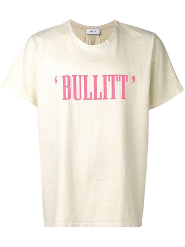 Rhude Cream 'Bullitt' T-shirt