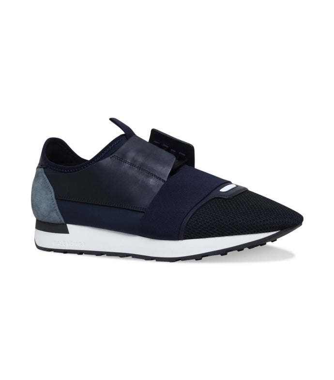 Balenciaga Blue Race Runner Sneakers