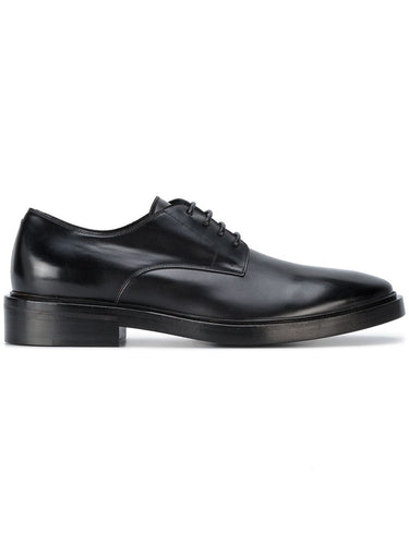 Balenciaga Noir Formal Derby Shoes