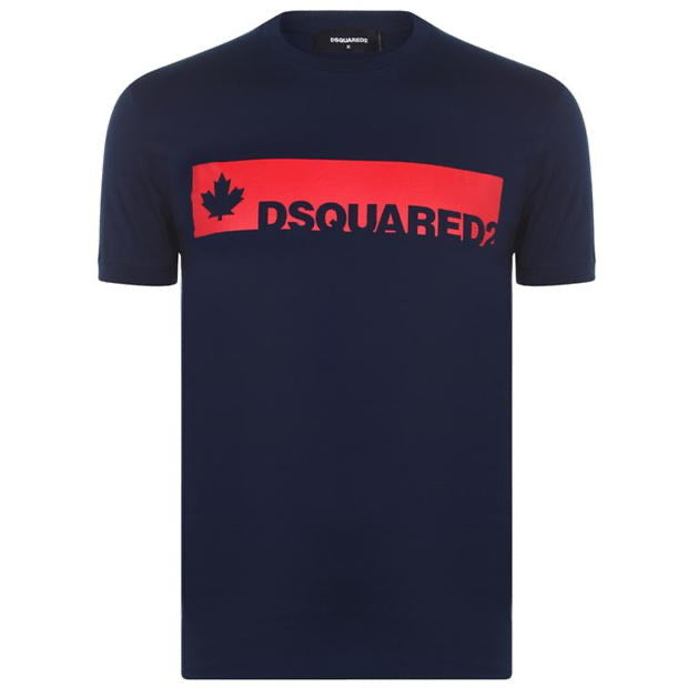 Dsquared2 Navy Box Logo T-shirt