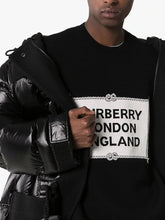 Burberry Black Trentley Knit Sweatshirt