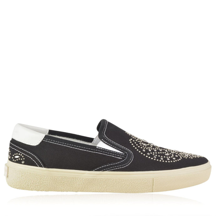 Saint Laurent Slip On Stud Sneakers