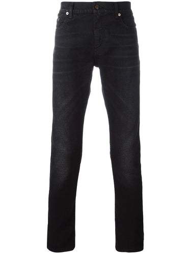 Saint Laurent Washed Black D02 Denim Jeans