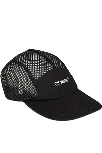 Off White Black Mesh Logo Baseball Cap