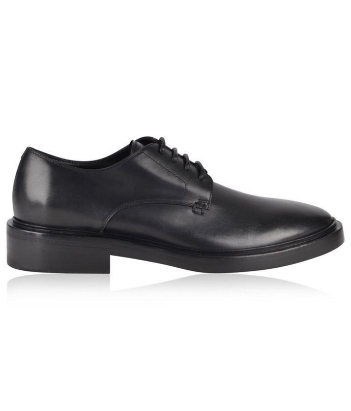 Balenciaga Black Formal Derby Shoe