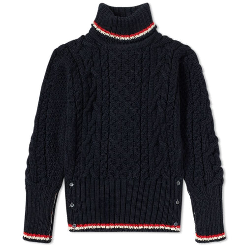 Thom Browne Aran Wool Sweater