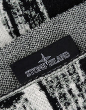 Stone Island Shadow Project Glitch Jacquard Scarf