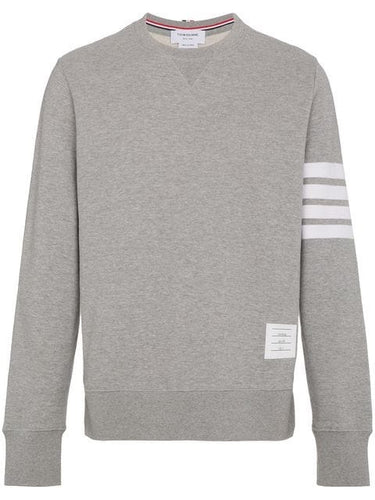 Thom Browne Grey 4 Bar Sweater