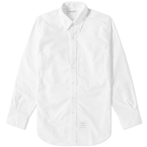 Thom Browne Classic White Oxford Shirt