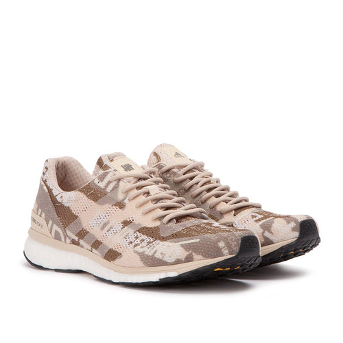 Adidas x Undefeated Adizero Camo Brown Sneakers