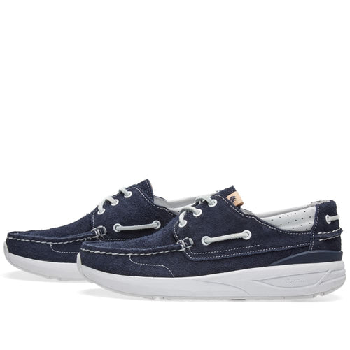 Visvim Navy Hockney Suede Shoes
