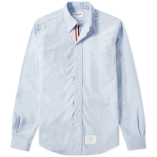 Thom Browne Classic Blue Oxford Shirt