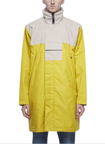 Acne Studios MT3003 Technical Yellow Parka Jacket