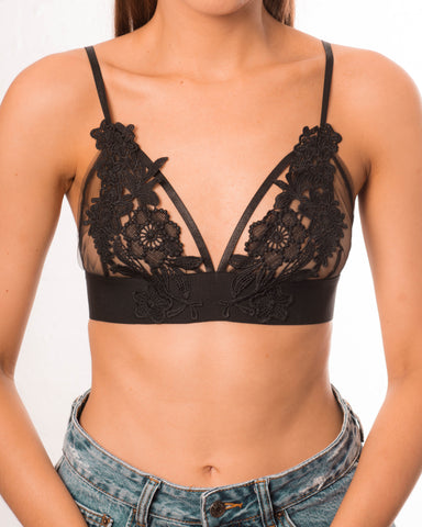 Tiffany Bralette - Black