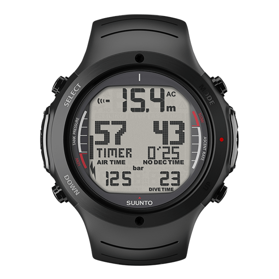 SUUNTO D6i NOVO ALL BLACK STEEL LIMITED EDITION Diving Computer