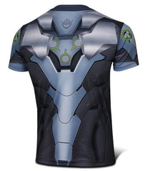 Genji 3D Printed Tight Fitting Shirt Type A
