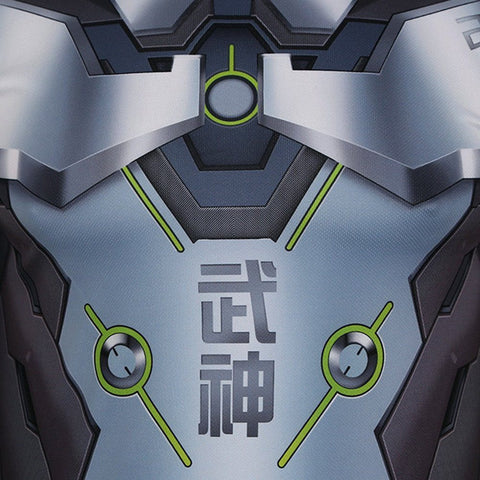 Genji 3D Printed Tight Fitting Shirt Type A - GeekGroks
