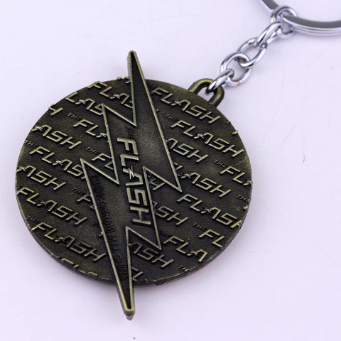 The Flash Metal Keychains - GeekGroks