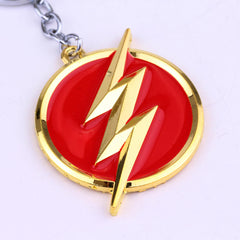The Flash Metal Keychains
