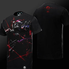 Khada Jhin Blood Moon Series T-Shirt S/S - GeekGroks