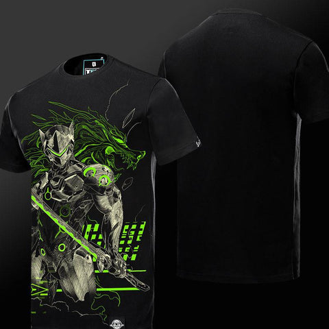 Genji Glow in the Dark T-Shirt S/S - GeekGroks
