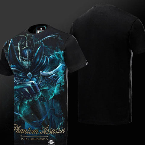 Dota 2 Phantom Assassin T-shirt S/S - GeekGroks