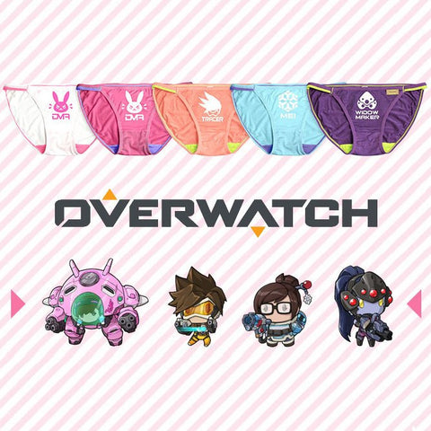 Overwatch Panties Series A - GeekGroks