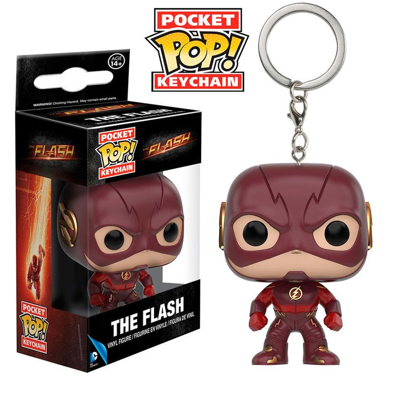 The Flash Pocket Pop Keychain - GeekGroks