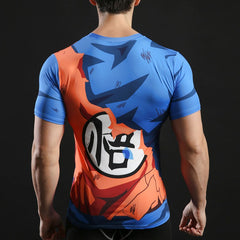Goku Go Compression T-Shirt S/S