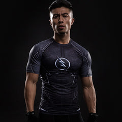 The Flash Black Compression T-Shirt S/S