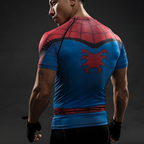 Spiderman Compression T-Shirt S/S - GeekGroks
